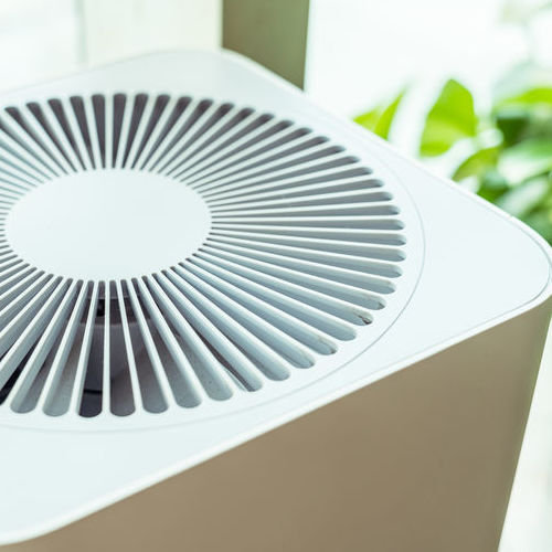 An Air Purifier Is Shown Inside a Home.