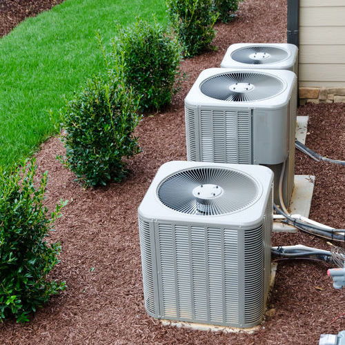 Three Air Conditioning Units