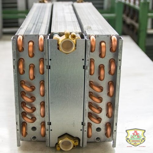 Heat Exchanger Coming Fresh Off the Factory Line