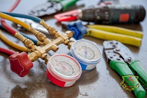 Tools for Repairs and HVAC Parts Replacement