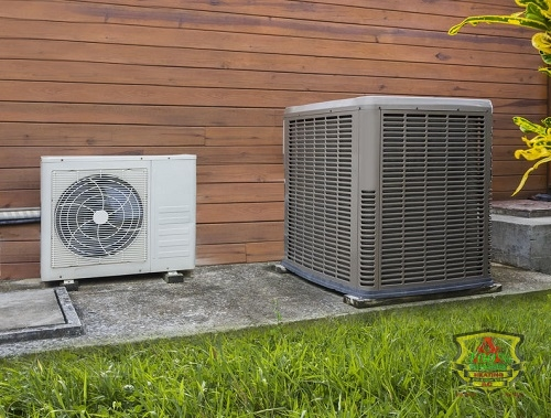 The Outdoor Portion of a Heat Pump System